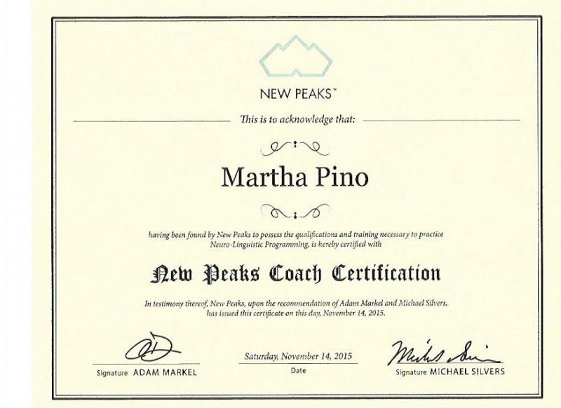MP- Coach Certifcation