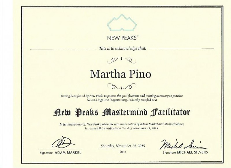 MP- Mastermind Facilitator Certificate