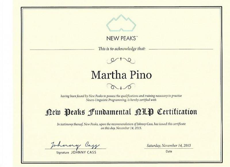 MP-NLP Certificate